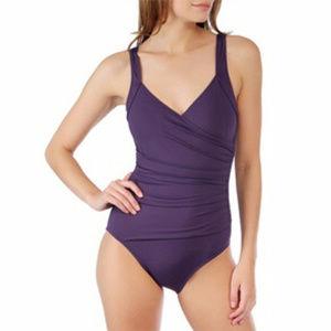 Calvin Klein 10/12? Purple One Piece Swimsuit